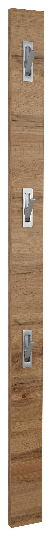 Előszoba Akasztórúd Enzo - Tölgyfa, modern, Faalapú anyag (12/175/2,8cm)