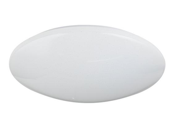 LED-Deckenleuchte Ø 49 cm - Opal/Weiß, Basics, Kunststoff/Metall (49/12cm)