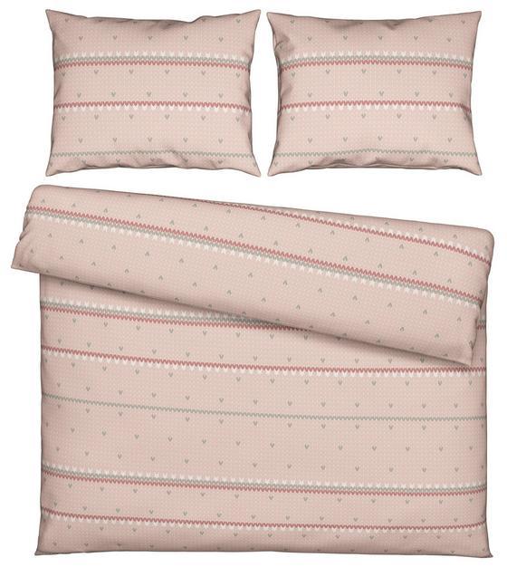 Povlečení Elke Xxl - starorůžová, Romantický / Rustikální, textil (200/200cm) - Mömax modern living