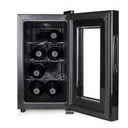 Flaschenkühler Nova bis zu 8 Flaschen - Schwarz, Basics, Metall (25,4/52cm)