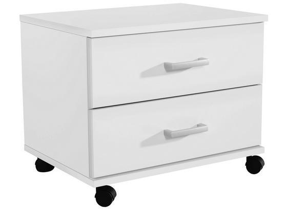 Kontajnér Point Biela - biela, Moderný, kompozitné drevo/plast (50/41/38cm)