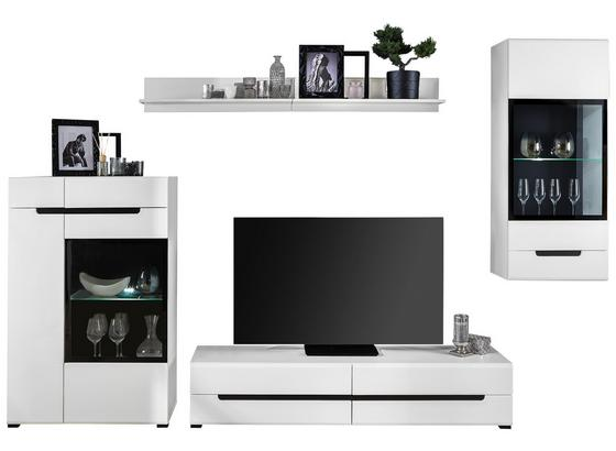 wohnwand zeus online kaufen m belix. Black Bedroom Furniture Sets. Home Design Ideas