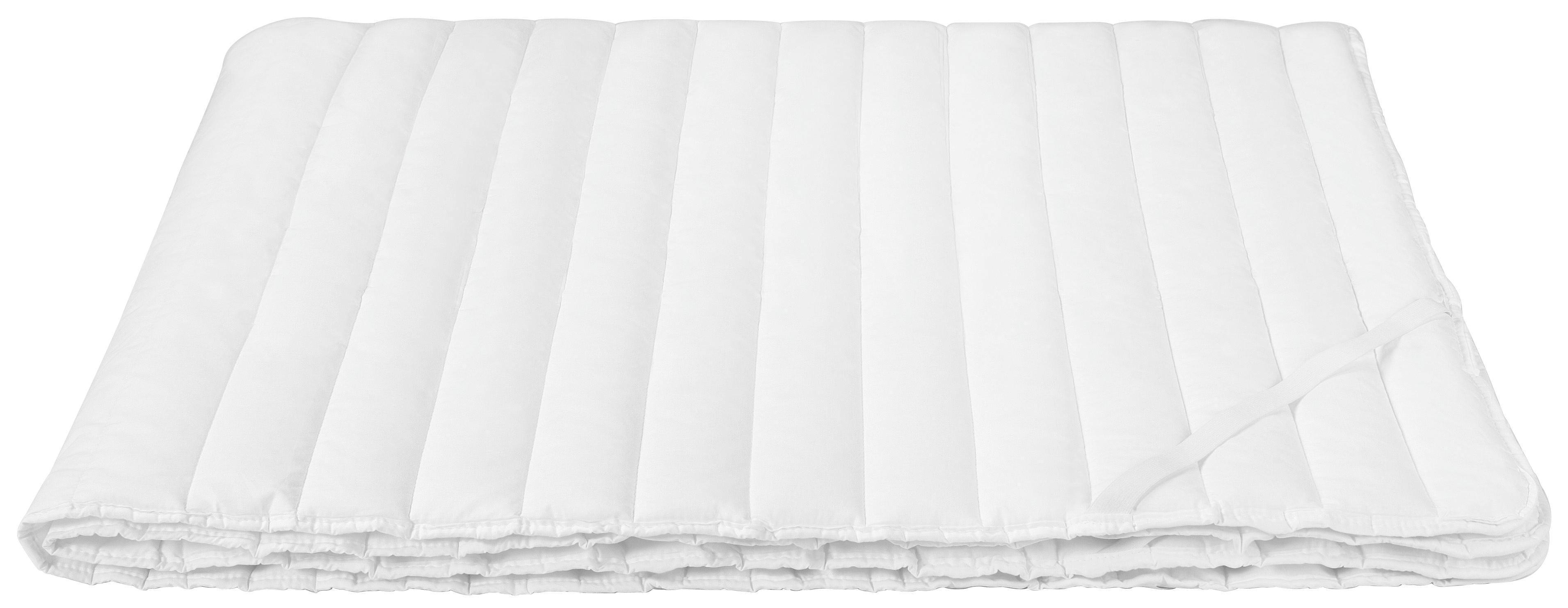 Matracvédő Bianca - fehér, konvencionális, textil (140/200cm) - PRIMATEX