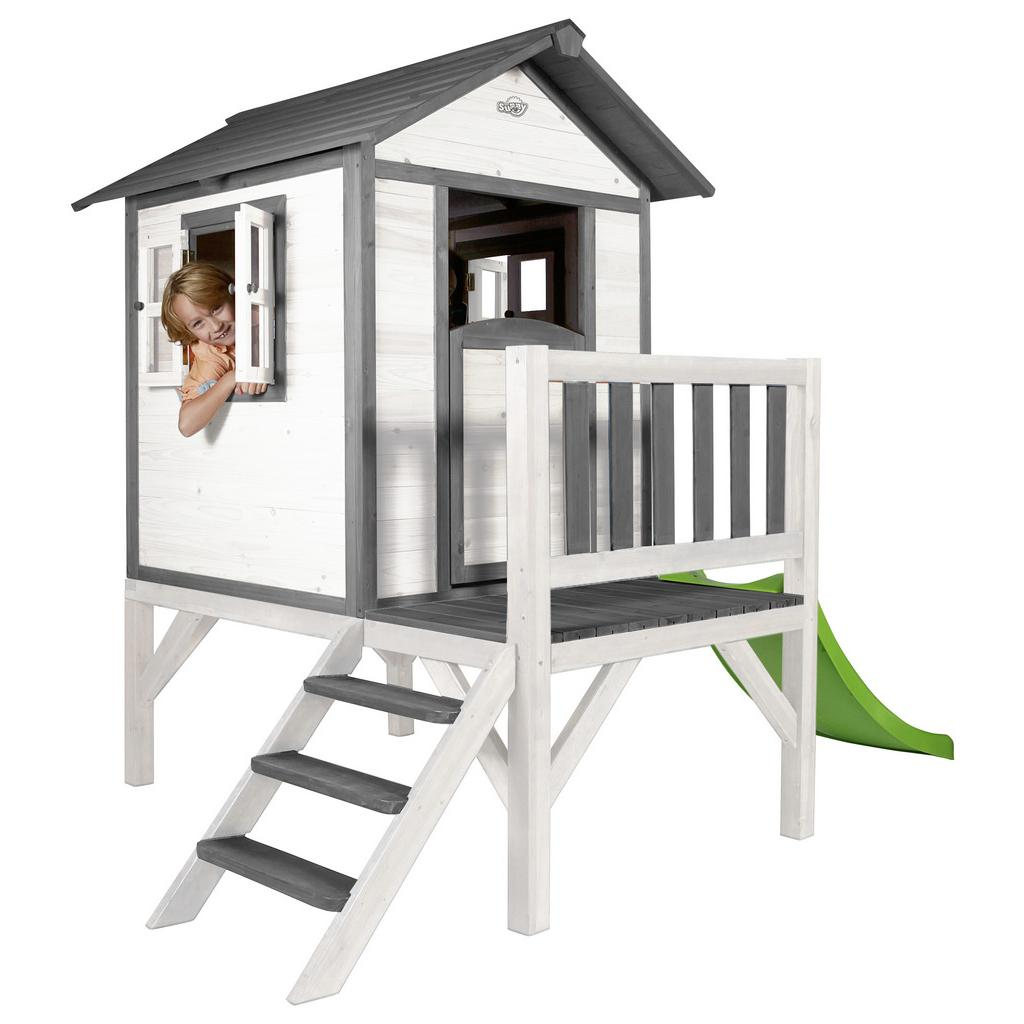 Hrací Domeček Pro Děti sunny Lodge Xl Bílá/šedá