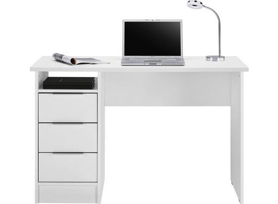 Písací Stôl Student -based- - biela, kompozitné drevo (120/76/55cm) - Mömax modern living