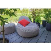 Outdoorsitzsack Slope XL B: 115 cm Dunkelgrau - Dunkelgrau, Basics, Kunststoff (115/80/140cm) - Ambia Garden