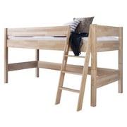 mittelhohes Bett Kim 90x200 Buche Massiv - Buchefarben, Design, Holz (90/200cm) - MID.YOU