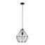 Závesná Lampa Skeletton - čierna, kov (30/110cm) - Mömax modern living