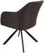 Stuhl Sevilla Grau - Schwarz/Grau, MODERN, Textil/Metall (56/82/62,5cm) - Ombra