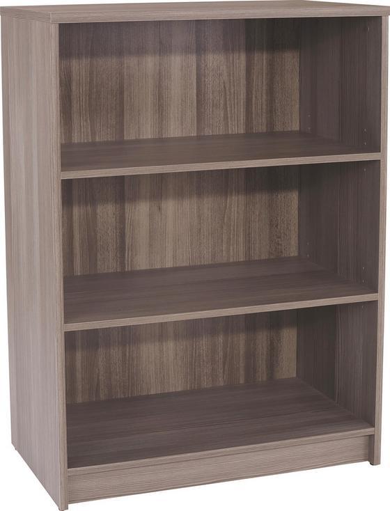 Regál 4-you Yur02 - tmavohnedá, Moderný, drevený materiál (74/111,4/34,6cm)