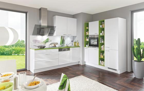 Einbauküche Santiago individuell planbar - Holzwerkstoff - Vertico