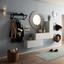 Hodiny Nástěnné Ivy - bílá/černá, Romantický / Rustikální, umělá hmota/sklo (45.5cm) - Mömax modern living