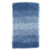 Badematte Holland - Blau, KONVENTIONELL, Textil (60/90cm) - OMBRA