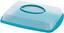 Kuchentransportbox Jordan - Blau/Transparent, KONVENTIONELL, Kunststoff (43/31/9cm) - Ombra
