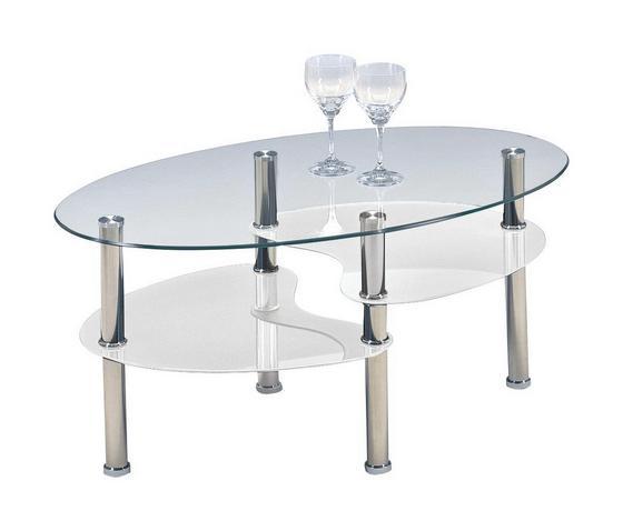 Dohányzóasztal Saba - modern, Üveg (90/45/55cm)
