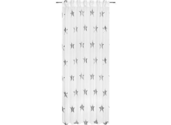 Záves S Pútkami Starlite - medená/biela, Romantický / Vidiecky, textil (140/245cm) - Mömax modern living