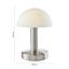 Stolová Lampa Leo, Max. 40 Watt - biela, Konvenčný, kov/plast (15/21cm) - Mömax modern living