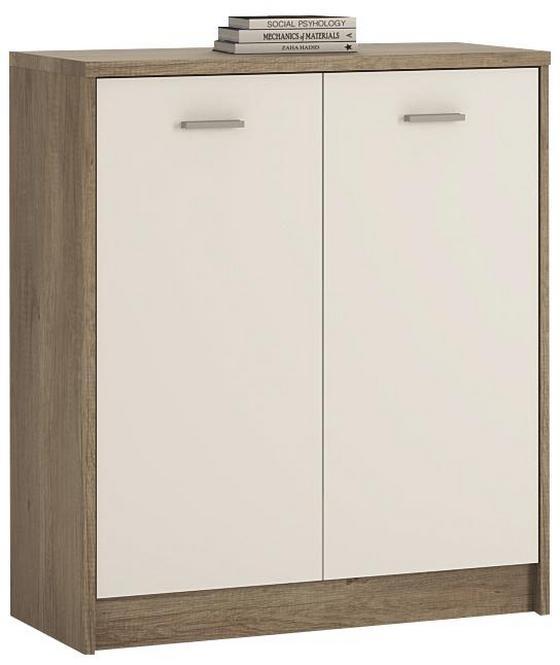 Kommode 4-You YUK03 - Eschefarben/Weiß, MODERN, Holzwerkstoff (74/85,4/35,2cm)