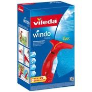 Fenstersauger Windomatic B: 27 cm - Blau/Rot, Basics, Kunststoff (27/34/12cm) - Vileda