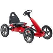 Spielfahrzeug Go-Kart Deluxe I - Rot/Schwarz, Basics, Kunststoff/Metall (123/62/71cm)