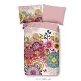 Bettwäsche Yelena 140/200cm Rosa/Multicolor - Multicolor/Rosa, Basics, Textil