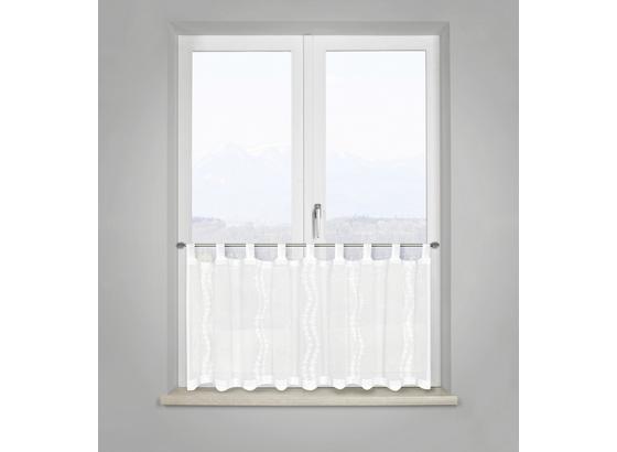Záclona Krátká Liselotte - bílá, Romantický / Rustikální, textil (50/145cm) - Mömax modern living