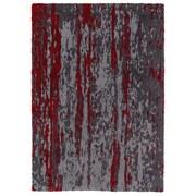 Webteppich Impression D.161 041 - Rot/Grau, MODERN, Textil (120/180cm) - Schöner Wohnen