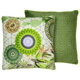 Zierkissen-doubleface Bodhini - Multicolor/Grün, MODERN, Textil (48/48cm)