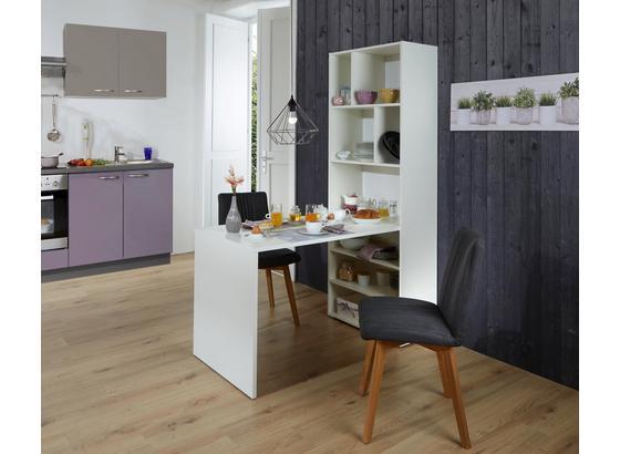 tisch regal kombination breakfast 70 cm wei online kaufen m belix. Black Bedroom Furniture Sets. Home Design Ideas