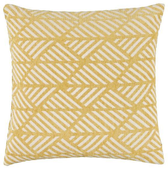 Povlak Na Polštář Mary Jacquard - barva mosaz, Moderní, textil (45/45cm) - Mömax modern living