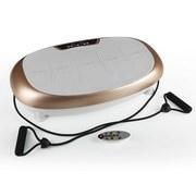 Vitalmaxx Vibrationstrainer, 200W - Champagner/Grau, Basics, Kunststoff/Metall (68/40/16cm) - TV - Unser Original