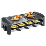 Raclette-Grill Rg 2683 - Schwarz, MODERN, Kunststoff/Stein (52,2/13/22,2cm) - SEVERIN