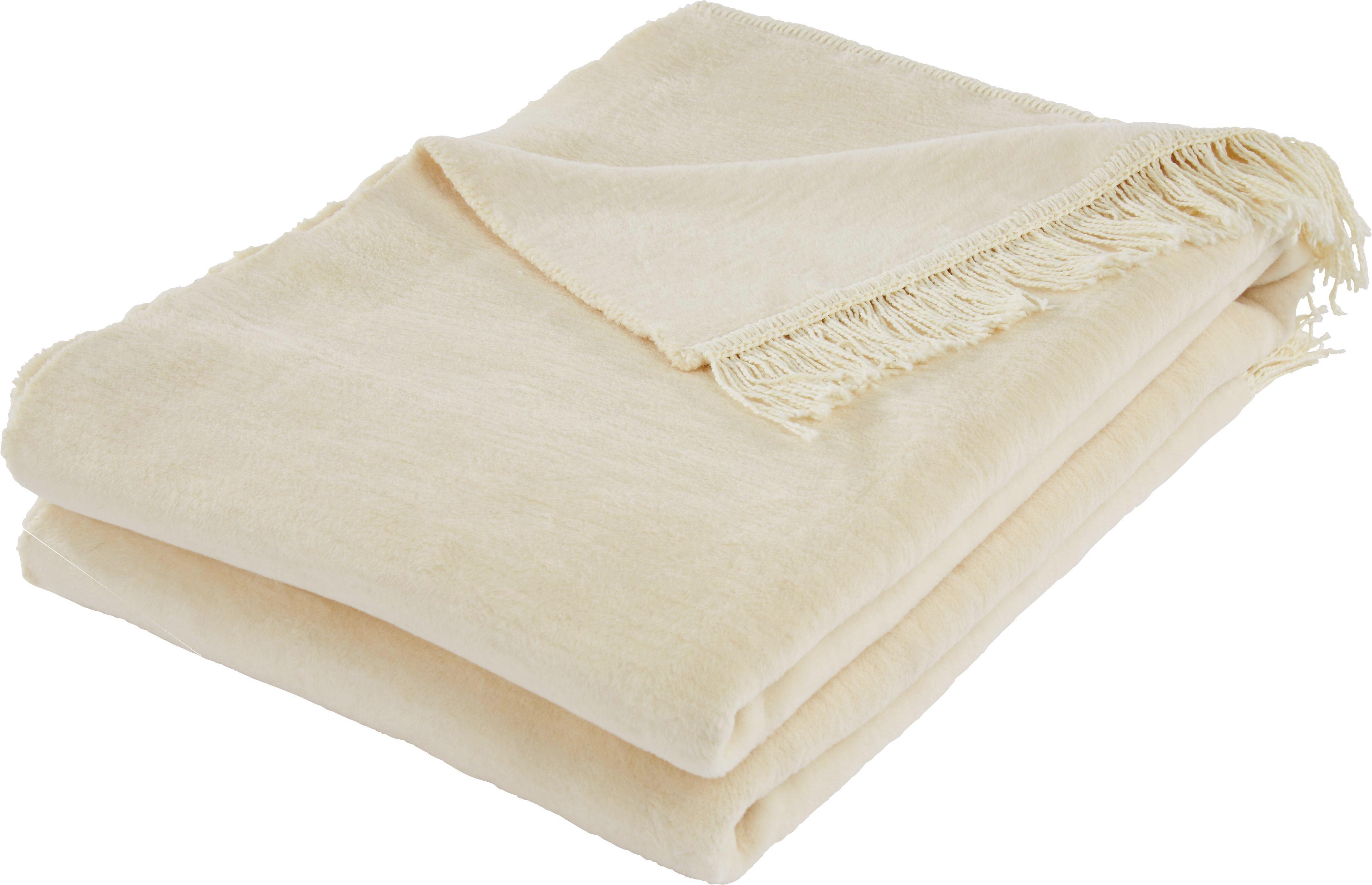 Deka El Sol - krémová, textil (150/200cm) - MÖMAX modern living