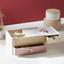 Organizér Na Šperky Lara - prírodné farby/ružová, drevo (25/12/18,2cm) - Mömax modern living