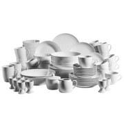 Kombiservice 68-Tlg. Barca - Weiß, Basics, Keramik (56,2/39/56,2cm)