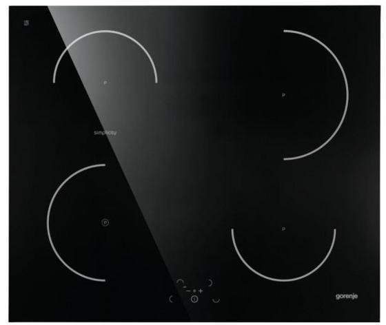Indukčná Varná Doska It612sy2b - čierna, Moderný, kov (60/6,1/51cm) - Gorenje