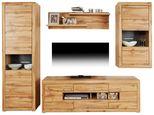 Doporučená Kombinace Tizio 4 - šedá/barvy dubu, Moderní, kompozitní dřevo (275/206/50cm)