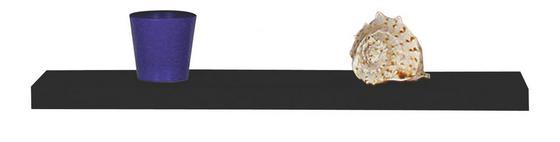 Police Nástěnná 50 Cm - černá, Moderní (50/4,4/26cm)