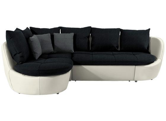 Sedacia Súprava S Rozkladom Florida 192x280 Cm - čierna/sivá, Moderný, textil (192/280cm) - Luca Bessoni