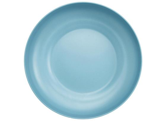 Mísa Anabel - Xl - modrá, Natur, kompozitní dřevo/přírodní materiály (30,5/7,5cm) - Zandiara
