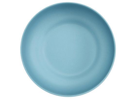 Miska Anabel - S - modrá, Natur, plast/prírodné materiály (15,3/5,4cm) - Zandiara