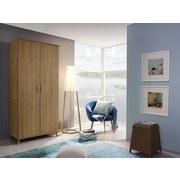Skriňa Falun - farby dubu, Moderný, drevený materiál (92/203/53cm)