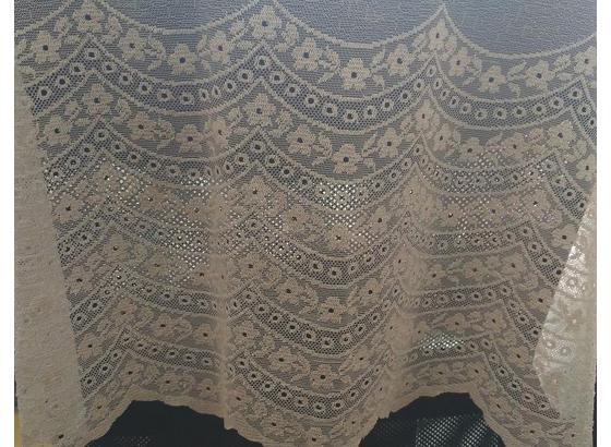 Záves Milna - béžová, Štýlový, textil (150/290cm)