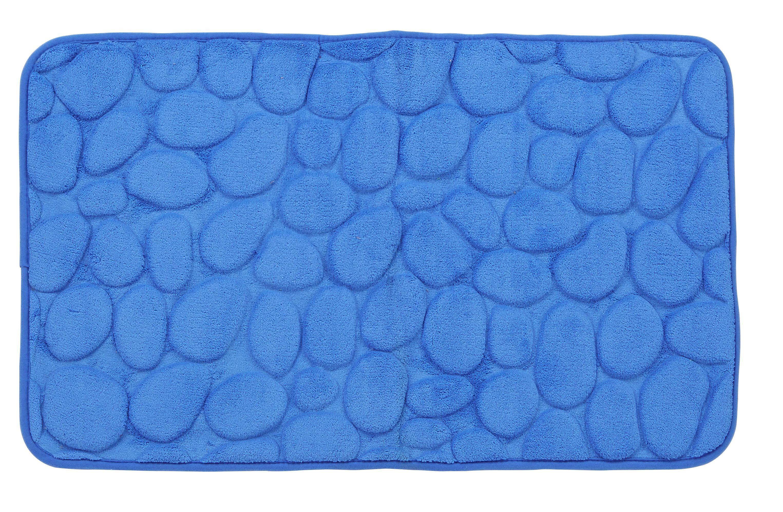 Fürdőszobaszőnyeg Rihanna - kék, modern, textil (50/80cm)