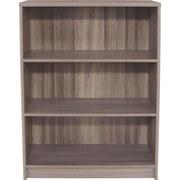 Regál 4-you Yur02 - tmavě hnědá, Moderní, dřevěný materiál (74/111,4/34,6cm)