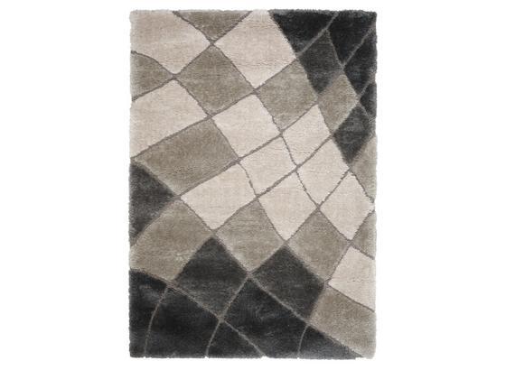 Shaggy Lydia 120x170 cm - Grau, Basics, Kunststoff (120/170cm) - James Wood