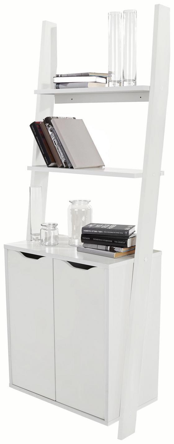 Regal Flo 65cm Weiß - Weiß, MODERN, Holzwerkstoff (65/176/34,2cm)