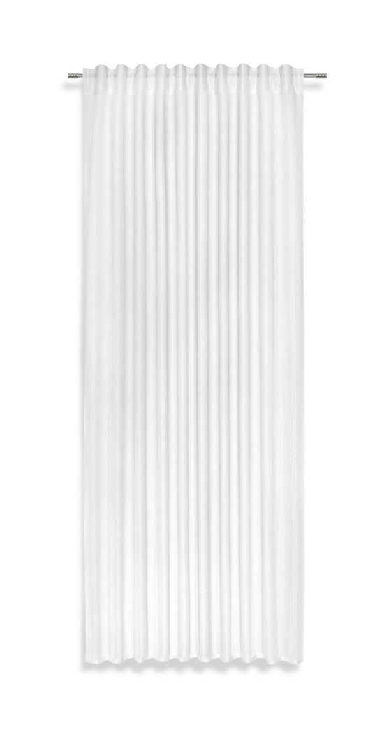 Fertigvorhang Verena - Weiß, MODERN, Textil (140/245cm) - Luca Bessoni