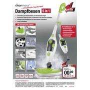 Dampfreiniger Limette/ Weiß B: 21cm - Limette/Weiß, Basics, Kunststoff (21/112,5/29,6cm)