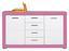 Komoda Sideboard Derby - bílá/růžová, Moderní, dřevěný materiál (155/90/40,5cm)